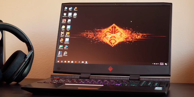 "Review of HP OMEN (15-dc0010nr) 15.6"" Full HD Gaming Laptop (Intel i5-8300H, 12GB RAM, 128GB SSD + 1TB HDD, GTX 1050Ti)"