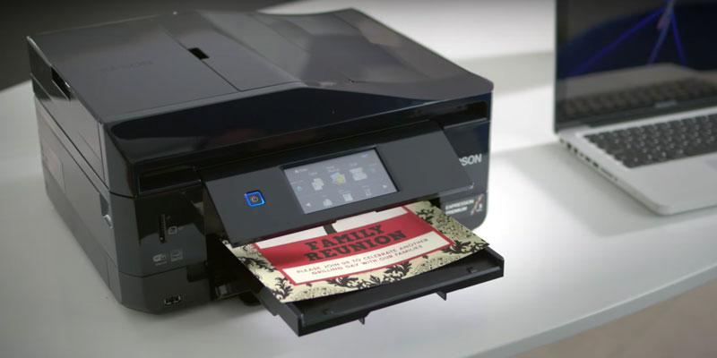 Detailed review of Epson XP-830 Wireless Color Photo Printer with Scanner, Copier & Fax