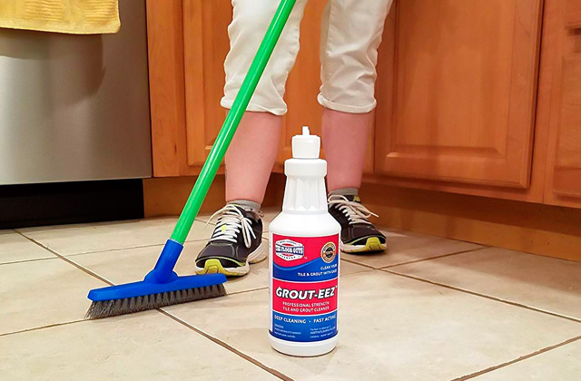 Comparison of Grout Cleaners