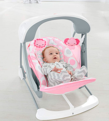 Review of Fisher-Price CMR60 Deluxe Take-Along Swing & Seat