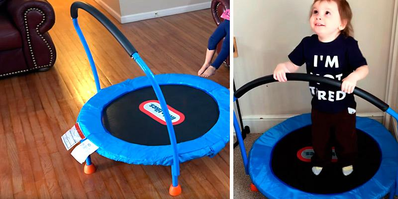 Little Tikes 3' Trampoline in the use