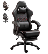 Dowinx Racing Style Gaming Chair with Footrest