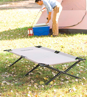 Review of Coleman 765353 Military-style camping cot