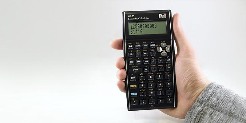 HP 35s Scientific Calculator in the use