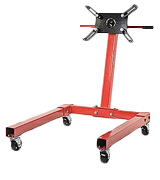 JEGS 80041 Red Engine Stand 360 Degree Head Motor Stand (1250 lbs Capacity)