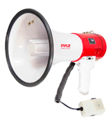 Pyle PMP58U Megaphone Speaker PA Bullhorn - with Built-in Siren