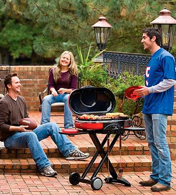 Review of Coleman Road Trip Gas Grill LXE