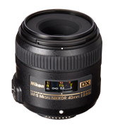 Micro-NIKKOR 40mm f/2.8G AF-S DX Fixed Macro Lens
