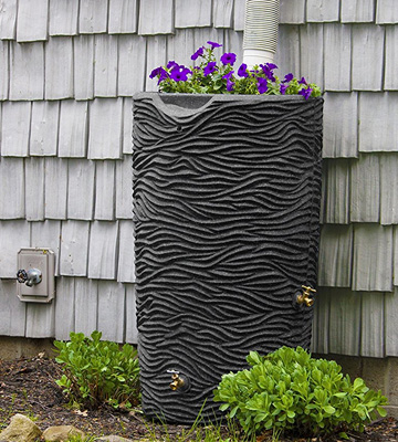 Review of Good Ideas IMP-L65-DAR Rain Barrel and Planter Top