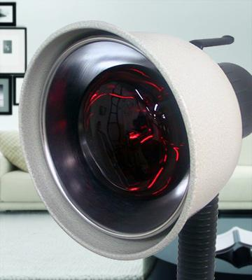 Review of K.S. Choi Corp Free-standing Infrared Heat Lamp