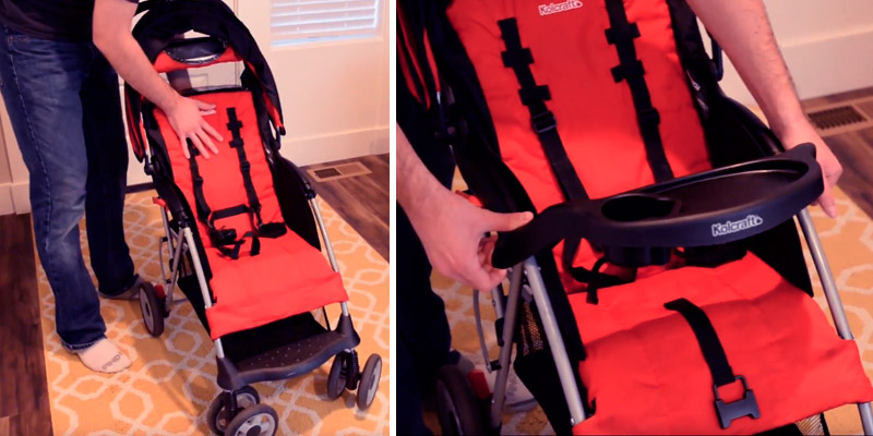 Review of Kolcraft Cloud Plus Lightweight Stroller