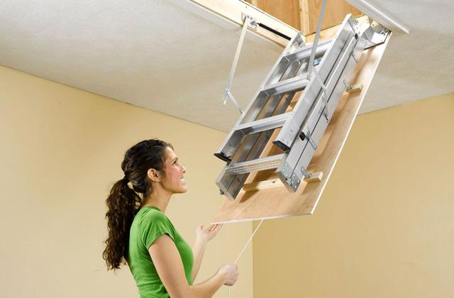 Best Pull Down Compact Attic Ladders to Access the Loft