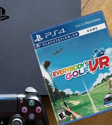 Review of Sony Corporation Everybody's Golf VR for PlayStation 4