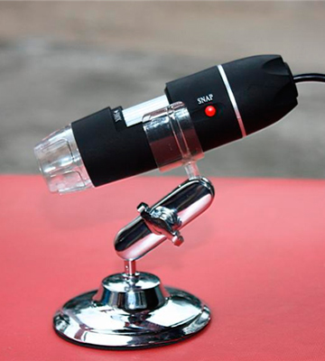 Review of Jiusion 1000x USB 2.0 Digital Microscope with OTG Adapter and Metal Stand