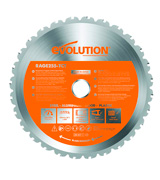 Evolution Power Tools RAGE255-TCT Multi-Purpose Cutting Blade