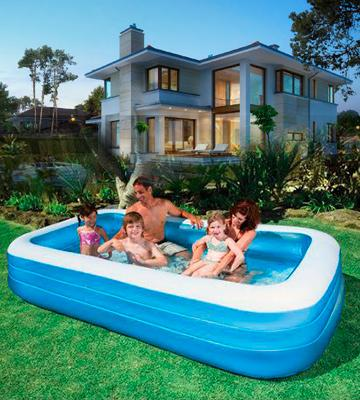 Review Of Jilong Giant Inflatable Family Pool
