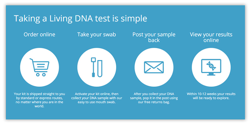 Living DNA Ancestry DNA Test in the use