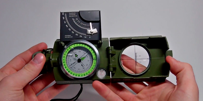 Review of Sportneer Military Compass with Inclinometer