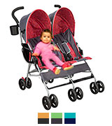 Delta Children 11701-026 Side by Side Double Stroller