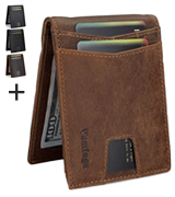 Vemingo Slim Front Pocket Wallet