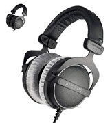 beyerdynamic DT 770 Pro (459046) 80 Ohm Over-Ear Studio Headphones in black