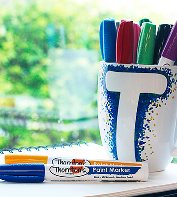 Review of Thornton's Art Supply Oil-Based Paint Markers