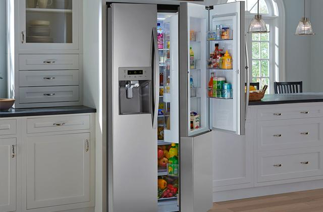 Comparison of  Side-by-Side Refrigerators