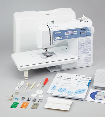 Review of Brother XR9550PRW Computerized Sewing Machine