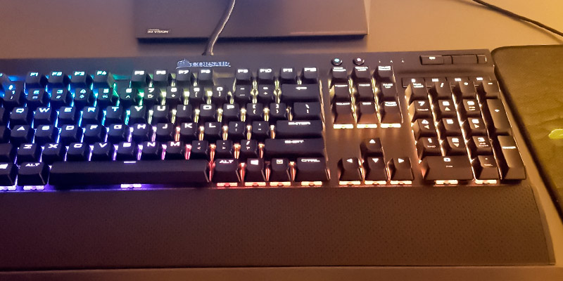 Detailed review of Corsair K70 RGB Backlit Mechanical Keyboard