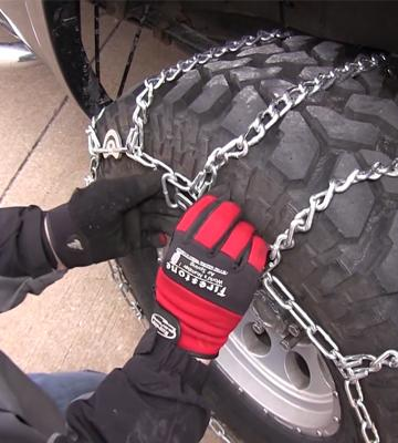 Review of Glacier Chains HSC Light Truck V-Bar Twist Link Tire Chain