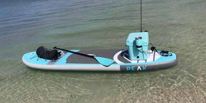Review of ISLE Surf and SUP PEAK Inflatable Stand Up Paddle Board