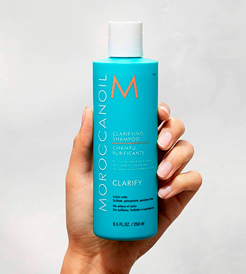 Review of Moroccanoil Clarifying Shampoo
