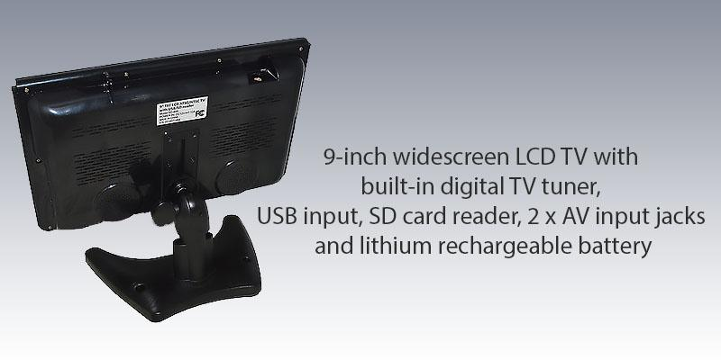 Detailed review of Supersonic SC499 9 LCD Portable Digital TV