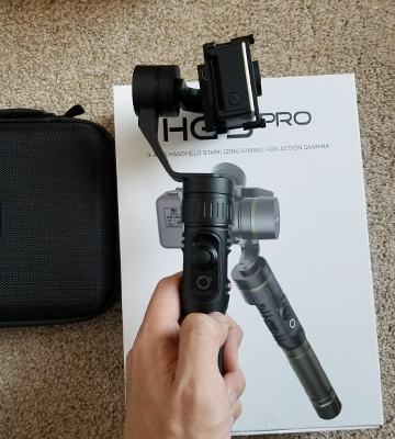 Review of Hohem 4332087895 3 Axis Stabilizer Gimbal for Gopro