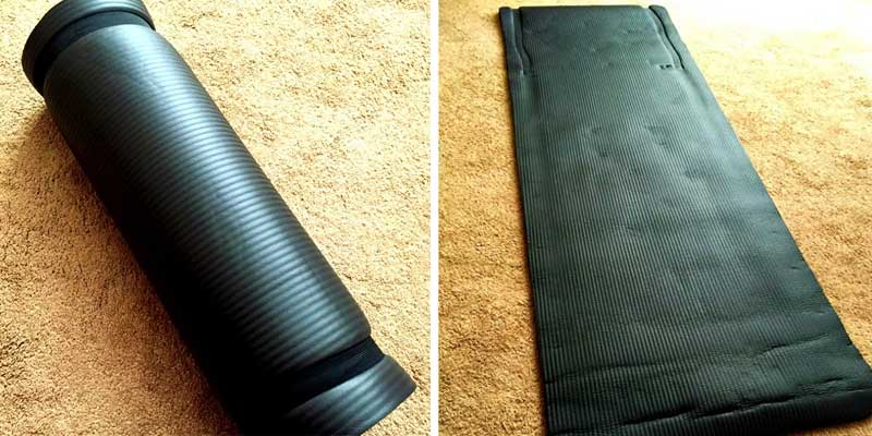 Review of BalanceFrom GoYoga Exercise Yoga Mat with Carrying Strap
