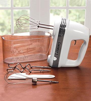 Review of Cuisinart HM-90S Power Advantage Plus 9-Speed Handheld Mixer, Storage Case