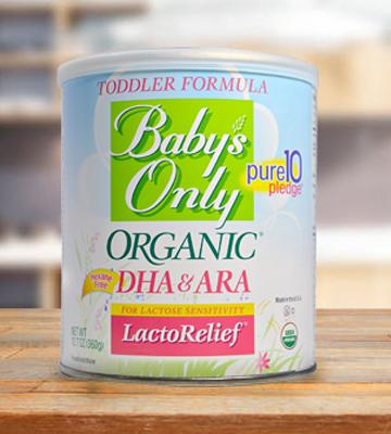 Review of Nature's One LactoRelief Toddler Formula
