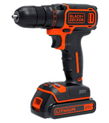 Black & Decker BDCDD120C 20V MAX Lithium Single Speed Drill/Driver