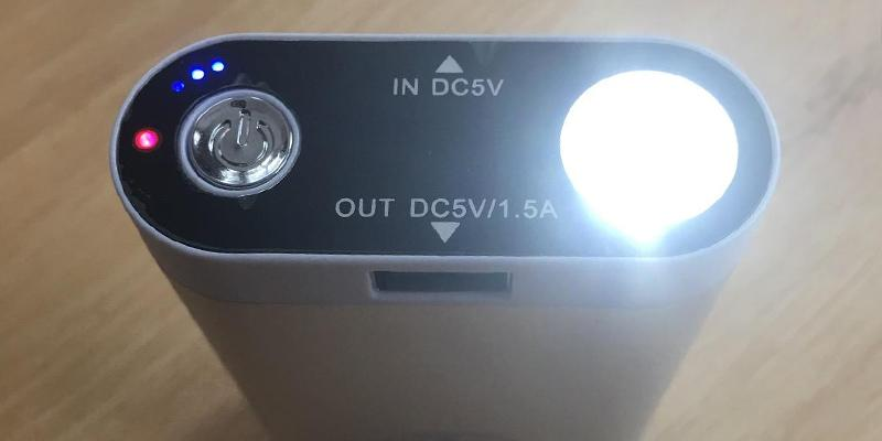 Review of The Outdoors Way Enjoying Life USB Back-up Battery Pack Flashlight