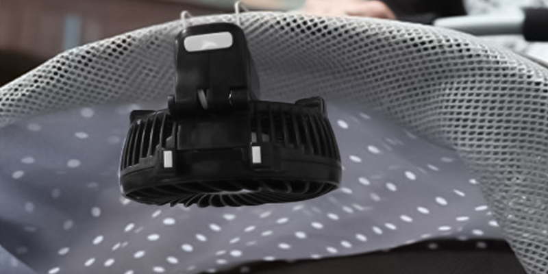 Review of VersionTech Multipurpose Portable Fan w/ USB charging