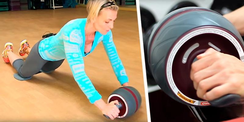 Perfect Fitness Perfect Ab Carver Pro Roller for Core Workouts in the use