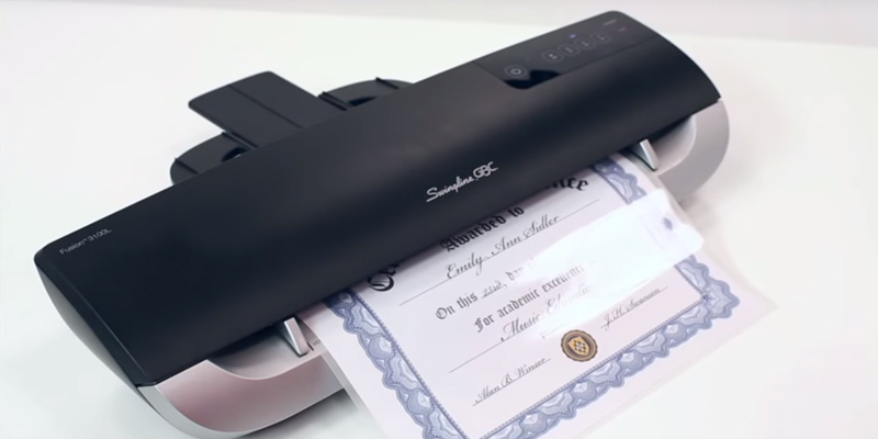 Review of Swingline GBC Fusion 3100L Thermal Laminator