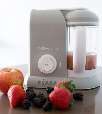 Review of Beaba Babycook 4 in 1 Food Maker, Steam Cooker & Blender