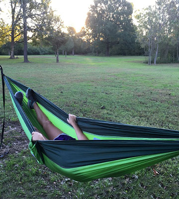 Review of Winner Outfitters Double Camping Hammock