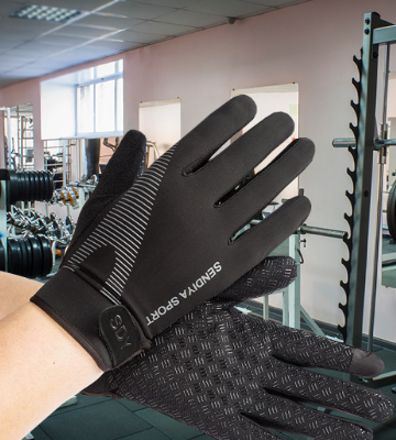 Review of YHT Workout Gloves Full Palm Protection & Extra Grip