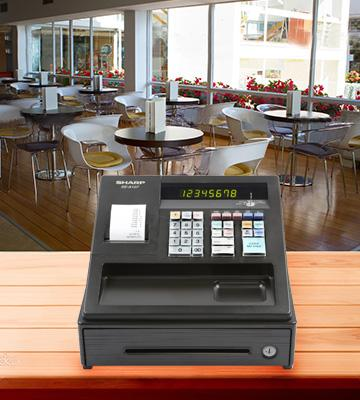 Review of Sharp XEA107 Entry Level Cash Register