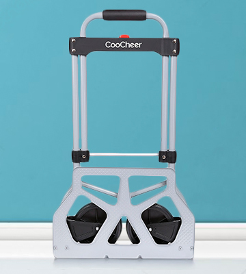 Review of COOCHEER US01+AM004291 Folding Luggage Cart