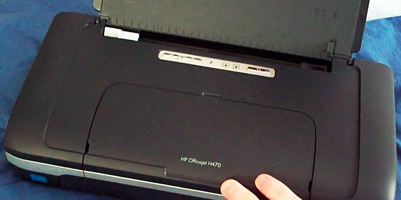 HP OfficeJet H470 Mobile Printer in the use