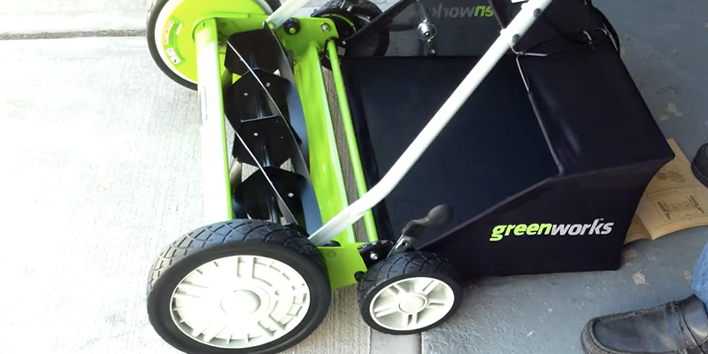 Review of GreenWorks 25052