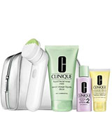 Clinique Sonic Cleansing Bruch Set Type I/II Cleanse, Purify, Glow.